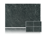 Kwarcyt Black Green Brushed 40x40 gr. 15mm