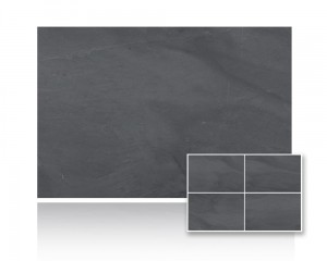 Łupek Black Slate Brushed 60x60